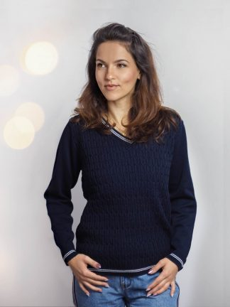 Baumwolle pullover strickmode pullover 2019
