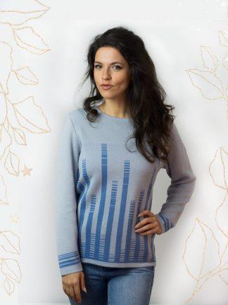 beautiful jacquard knitting, damen mode